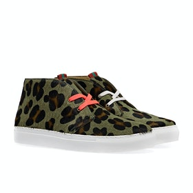 Scarpe Donna Penelope Chilvers Jungle Leopard Pony - Khaki
