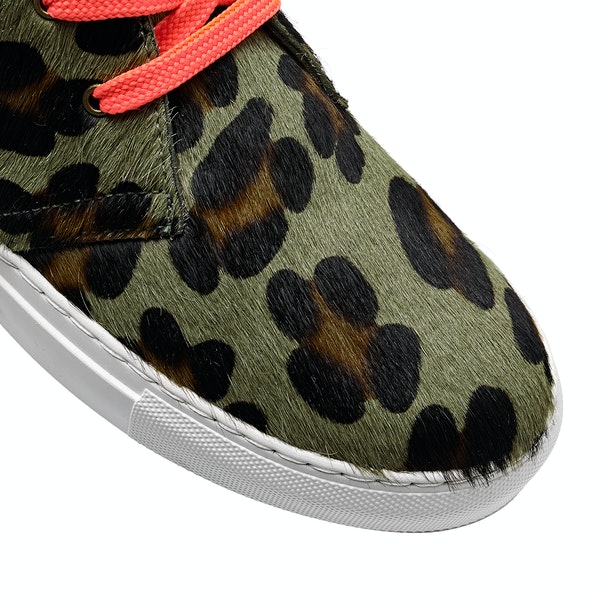 Penelope Chilvers Jungle Leopard Pony Women's Shoes