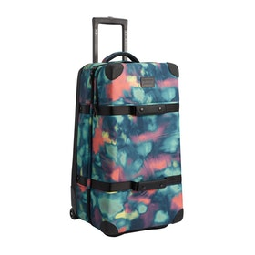 Burton Wheelie Double Deck Luggage - Aura Dye Ballistic