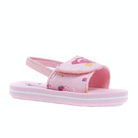 Roxy Finn Girls Sandals - Pink