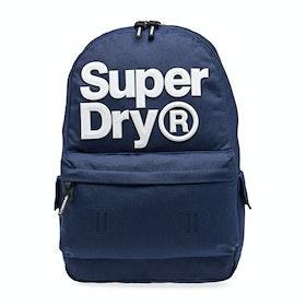 Superdry Logo Montana Backpack - Downhill Blue