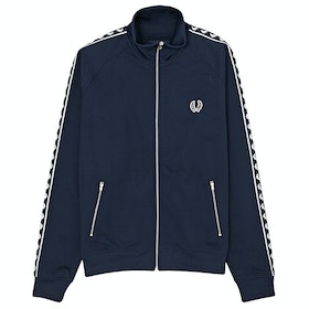 Fred Perry Re Issues Taped Trainingsjacke - Carbon Blue