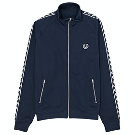 Fred Perry Re Issues Taped Track Jacket - Carbon Blue