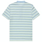 Fred Perry Re Issues Collarless Striped Pique Shirt