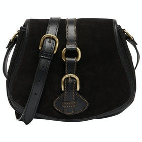 Penelope Chilvers Tambor Suede Women's Handbag - Black