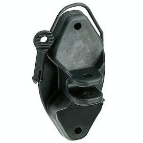 Corral Pinlock Insulator for , Elektriska stängsel - Black