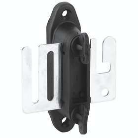Corral Profi Gate Insulator for Tape Electric Fencing - Black