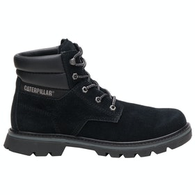 Caterpillar Quadrate Stiefel - Black