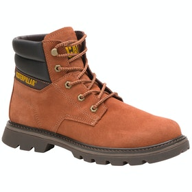 Caterpillar Quadrate Stiefel - Ginger