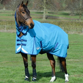 Weatherbeeta ComFiTec Plus Dynamic Lite Combo Turnout Rug - Sea Blue