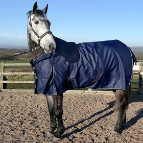 John Whitaker Firgrove Embossed 200g Turnout Rug - Navy