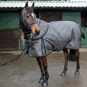 John Whitaker Denshaw 200g Detach-a-Neck Turnout Rug - Grey