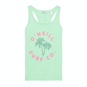 O'Neill Racer Girls Tank Vest - Neo Mint