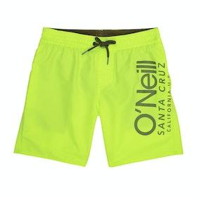 O'Neill Cali Boys Swim Shorts - New Safety Yellow