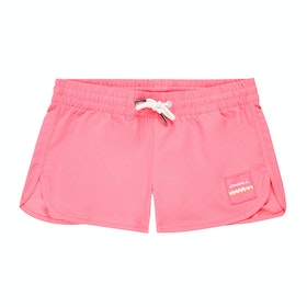 O'Neill Solid Beach Girls Boardshorts - Pink Lemonade