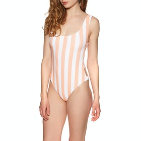 Volcom Coco One Piece Womens Swimsuit - Guava
