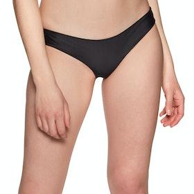 Rip Curl Eco Surf Good Bikini Bottoms - Black
