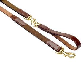 John Whitaker Elastic Draw Reins - Brown