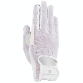 Imperial Riding Super Riding Gloves - White