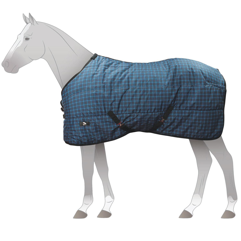 Derby House Pro Standard Unisex Horse Rug Fleece Purple Gold All Sizes