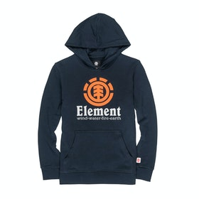 Element Vertical Boys Pullover Hoody - Eclipse Navy