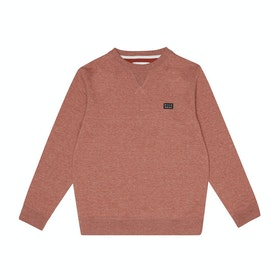 Billabong All Day Crew Boys Sweater - Sangria