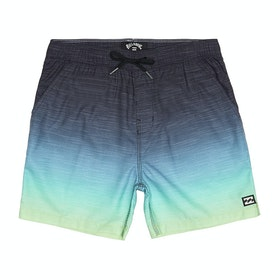 Billabong All Day Faded Layback Boardshorts - Citrus