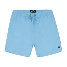 Billabong All Day Laybacks 14in Boys Boardshorts - - Light Blue