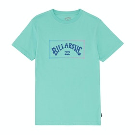 Billabong Arch Boys Short Sleeve T-Shirt - Black