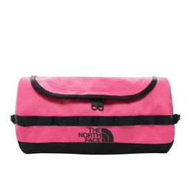 North Face Base Camp Travel Canister , Vaskebag - Pink TNF Black