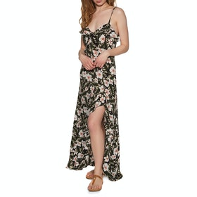 Volcom Coco Maxi Dress - Black Combo
