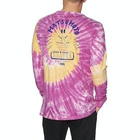 Hurley Matsumoto Shave Ice Tie Dye Long Sleeve T-Shirt - Multi Colour