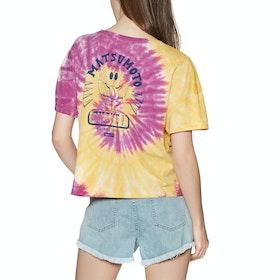 T-Shirt a Manica Corta Hurley Matsumoto Shave Ice Tie Dye - Multi Color