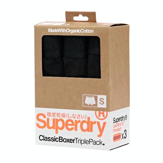 Superdry Classic Boxer Triple Pack Boxer Shorts