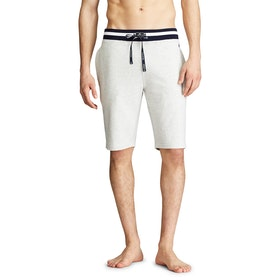 Piżama Męskie Polo Ralph Lauren Loop Back Jersey Shorts - English Heather