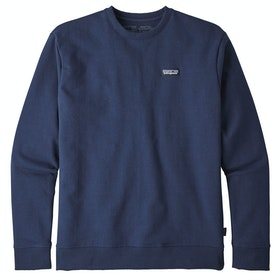 Patagonia P-6 Label Uprisal Crew Sweater - Classic Navy