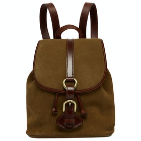 Penelope Chilvers Tambor Suede Women's Backpack - Peat