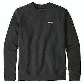 Patagonia P-6 Label Uprisal Crew Sweater - Black