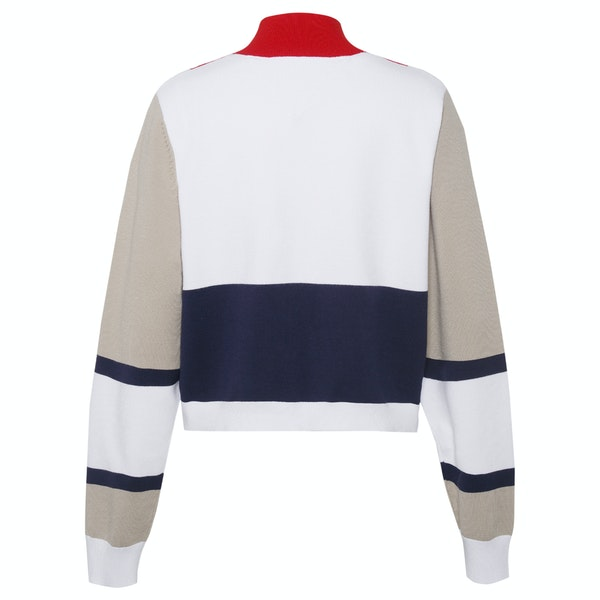 Tommy Jeans Colorblock Logo Sweater