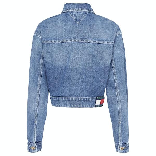 Tommy Jeans Cropped Trucker Women's Jacket