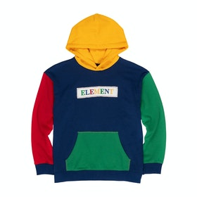Element Blocky Boys Pullover Hoody - Multi