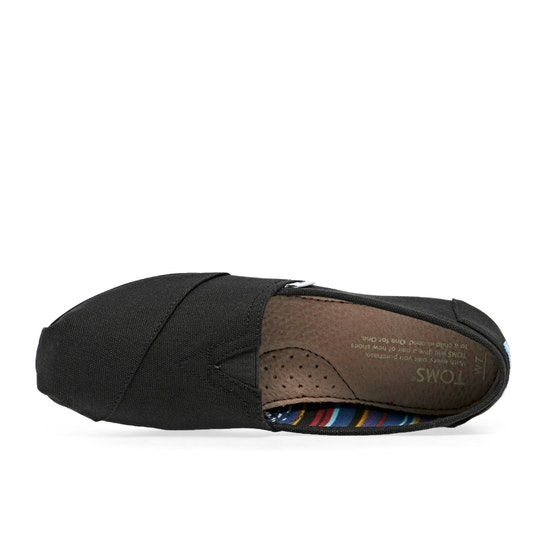 Toms Classic Alpargata Womens Slip On Shoes