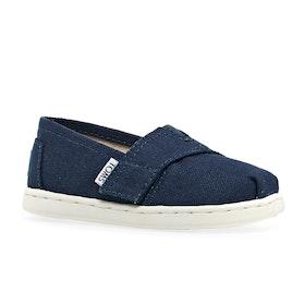 Mocassins Enfant Toms Mini Classics - Navy Blue