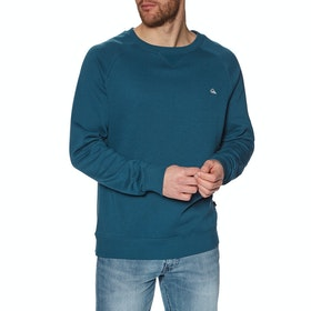 Sweat Quiksilver Everyday Crew - Majolica Blue