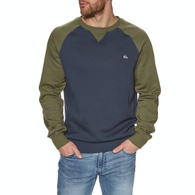 Quiksilver Everyday Crew Sweater - Blue Nights