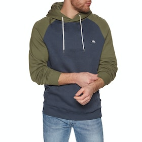 Quiksilver Everyday Pullover Hoody - Blue Nights