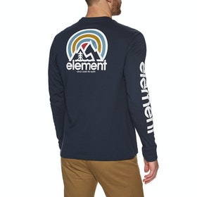 Element Sonata Long Sleeve T-Shirt - Eclipse Navy