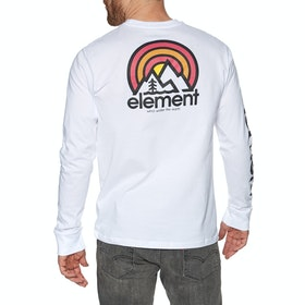 Element Sonata Long Sleeve T-Shirt - Optic White