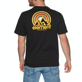 Element Sonata Short Sleeve T-Shirt - Flint Black