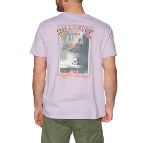 Billabong Past Love Short Sleeve T-Shirt - Lavender